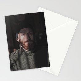 58 / Man portrait Stationery Cards