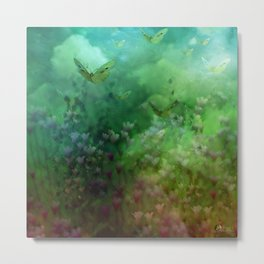 """""""The Enchanted Forest"""" (Fairyland) Metal Print"""