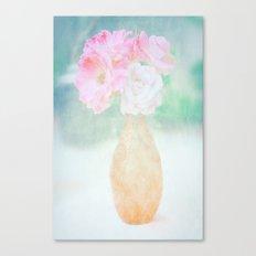 de belles fleurs Canvas Print