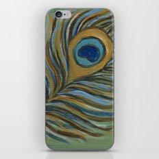 Peacock Feather iPhone & iPod Skin