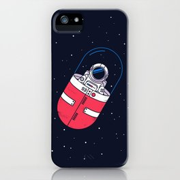 Space Capsule iPhone Case