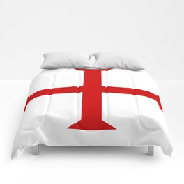 templar knights cross Comforters