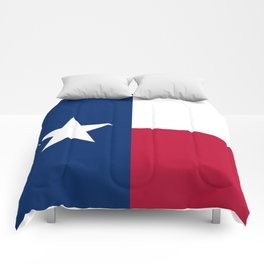 Texas State Flag, Authentic Version Comforters