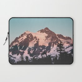 Pink Cascade Mountain Laptop Sleeve