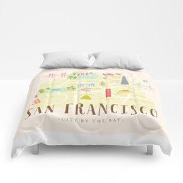 millefeuille Comforters