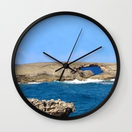 Ocean's Eye Wall Clock