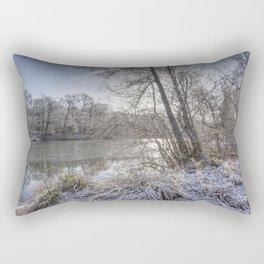 Sunrise across the Pond Rectangular Pillow