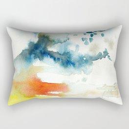 Ominous Silence Rectangular Pillow