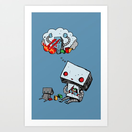 A Dream About the Future Art Print