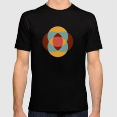 Intersection Black Mens Fitted Tee MEDIUM