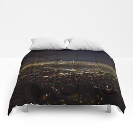Downtown. Comforters