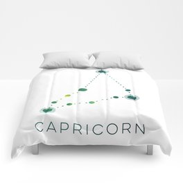 CAPRICORN STAR CONSTELLATION ZODIAC SIGN Comforters