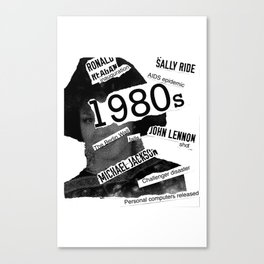 Misanthrope 80's Shirt Canvas Print