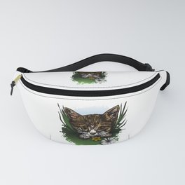 Calico Kitty Fanny Pack
