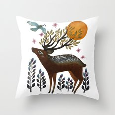 Design by Nature Throw Pillow