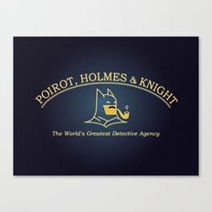 Great Detectives Canvas Print