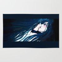 kiss Area & Throw Rugs featuring Kiss by Varvara Gorbash