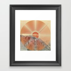 Not knowing when the dawn will come #everyweek 49.2016 Framed Art Print