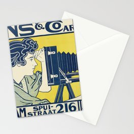 Vintage Camera Poster, 1899 Stationery Cards
