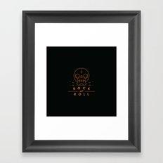 Rock & Roll Framed Art Print