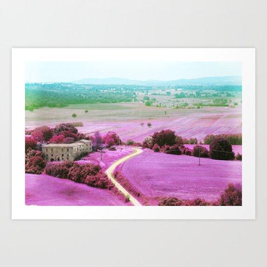 Tuscan mars Art Print