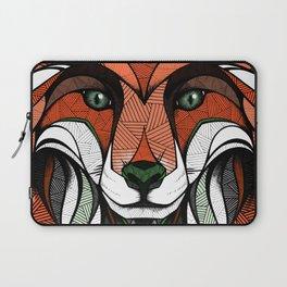 Fox // Colored Laptop Sleeve