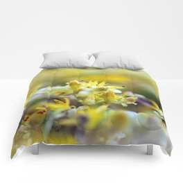 Yellow Sedum Comforters