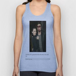 Zayn Malik Tumblr Post Unisex Tank Top
