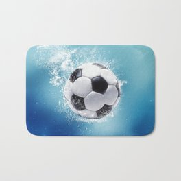Soccer Water Splash Bath Mat