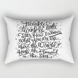 TWINKLE TWINKLE TWINKLE TWINKLE Rectangular Pillow