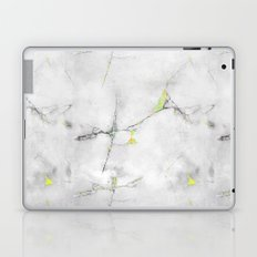 Yellow Cracked Design Laptop & iPad Skin