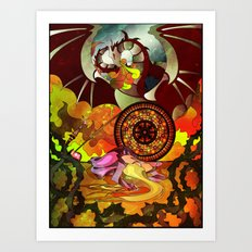 On Her Sixteenth Birthday Art Print