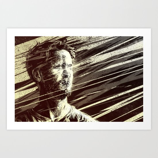 The Road to Damascus (by Brian Doc Reed) Art Print