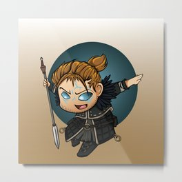 Dragon Age: Anders - You've Messed With The Wrong Mage Metal Print