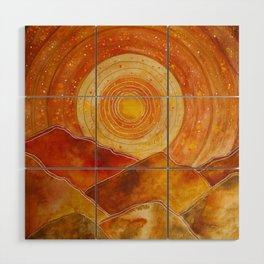 Sunset w.02 Wood Wall Art