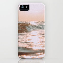 pink skies iPhone Case