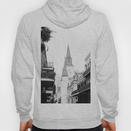 French Quarter Foggy Morning - New Orleans Hoody