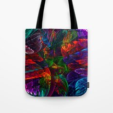 Bright Colored Leaves Tote Bag