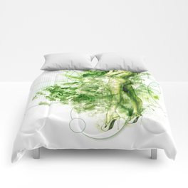 7 Things | Envy: Always Greener Pastures Somewhere  -illustration/ Art Print (7/7) Comforters