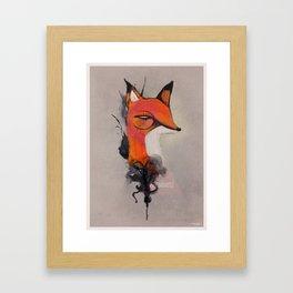 SHREWDNESS Framed Art Print