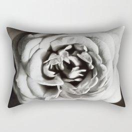 Classic Rose Tintype Rectangular Pillow