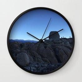 Alabama Hills Wall Clock