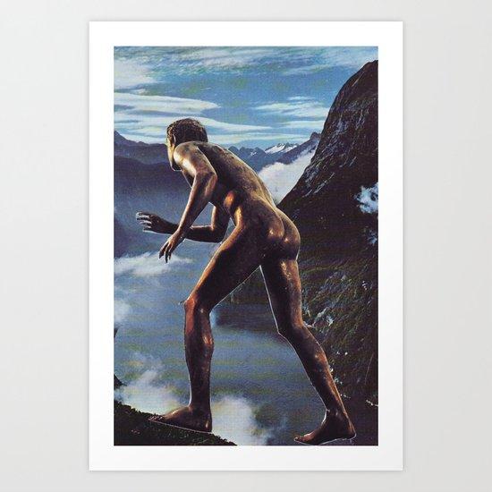 Collage #34 Art Print