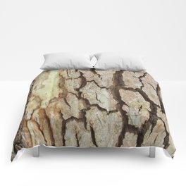 Cracked Up Bark Comforters