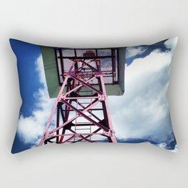 Tower In the Blue Sky Rectangular Pillow