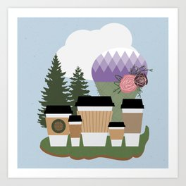 Tacoma Love Art Print