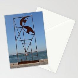 Iron scupture almada, Lisbon. Stationery Cards