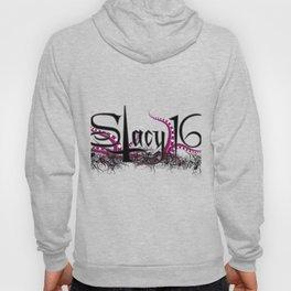 Stacy 16 logo White Hoody