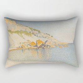 Cassis, Cap Lombard, Opus 196 Rectangular Pillow