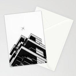 56 Leonard Street skyscraper in Tribeca, New York City Stationery Cards